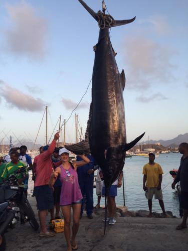 564 kg. Рыбалка на Кабо-Верде