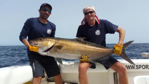 amberjack 43 Рыбалка на Кабо-Верде