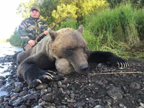 охота на медведя 09.2014