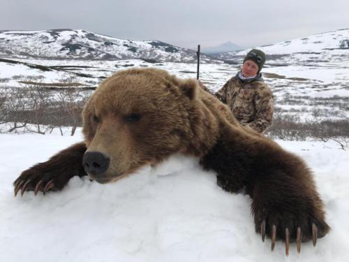 Охота на медведя 05.2015