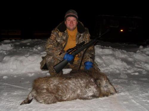 Загонная охота и охота с вышки в Тверской области