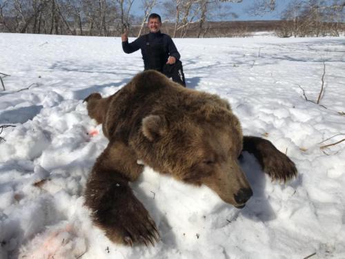 Охота на медведя 05.2017