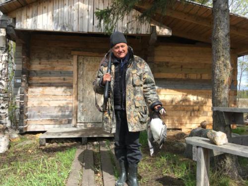 Охота на гуся 05.2018